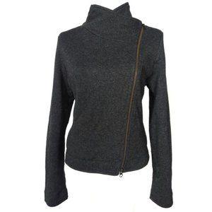Eileen Fisher Wool Blend Moto Jacket size S
